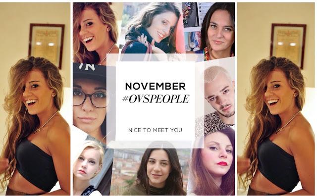 ovs people november, ovs people novmbre, testimonial ovs, ovs, ovs people del mese di novembre, nuova ovs people del mese di novembre