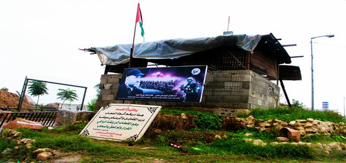 غزة تحت الدمار والامطار