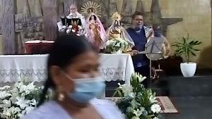 Misa en Honor a la Virgen de Urkupiña  de Bolivia