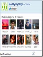 How To Add Twitter Follow Fan Box