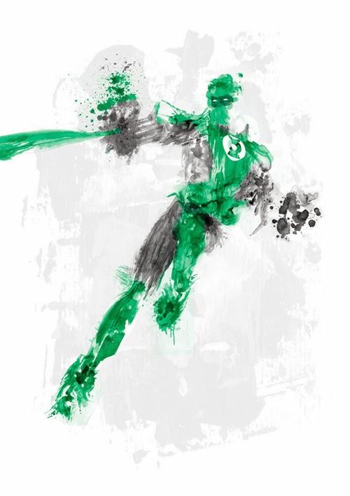 Linterna Verde by Kacper Kiec