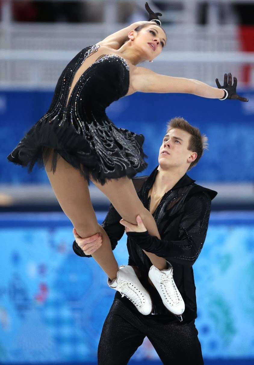 Ekaterian Brovoda and Dmitri Soloviev, The Black Swan, Russian Ice Skating