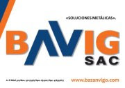 CONTACTO - BAVIG SAC