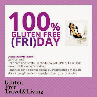 il  primo giveaway di gluten free travel & living!