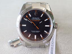 ROLEX MILGAUSS ANTI MAGNETIC - ROLEX 116400 BLACKDIAL - SERIE Z