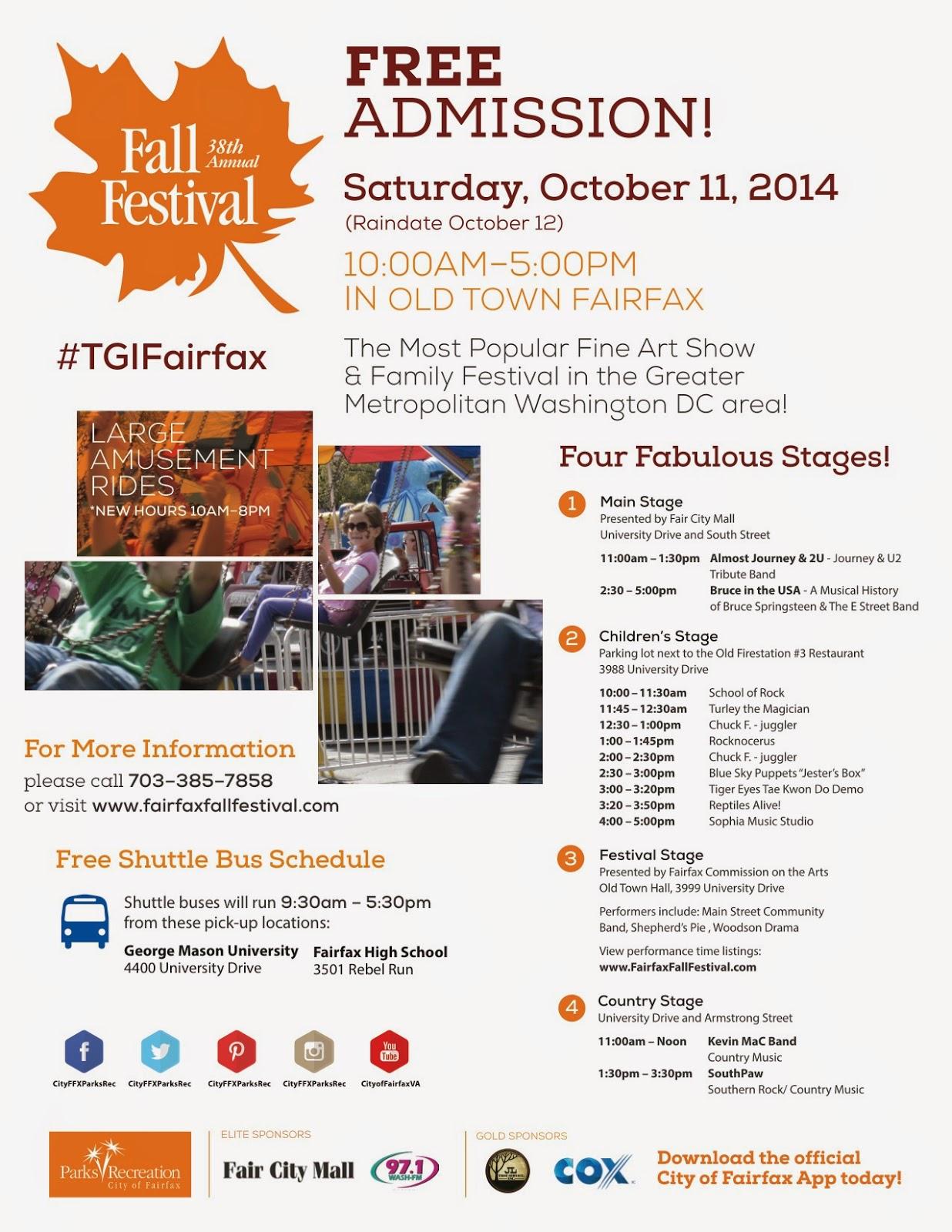 Heartfelt Sat Oct 11 Fall Festival