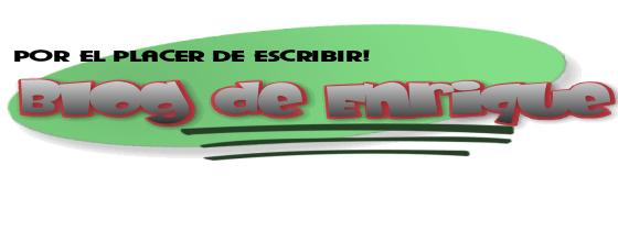 Blog de Enrique