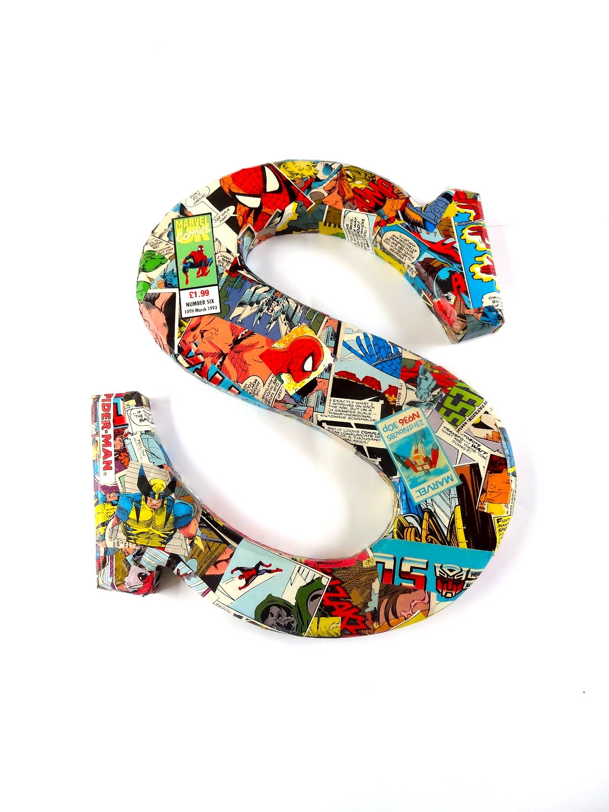 Decoupage Wooden Letters Wooden Letters And i