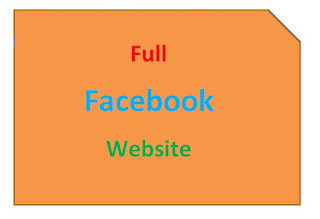 Facebook Full Site On Any Mobile Phone or Tablet