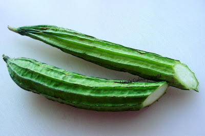 ghosale or ridge gourd or chinese okra