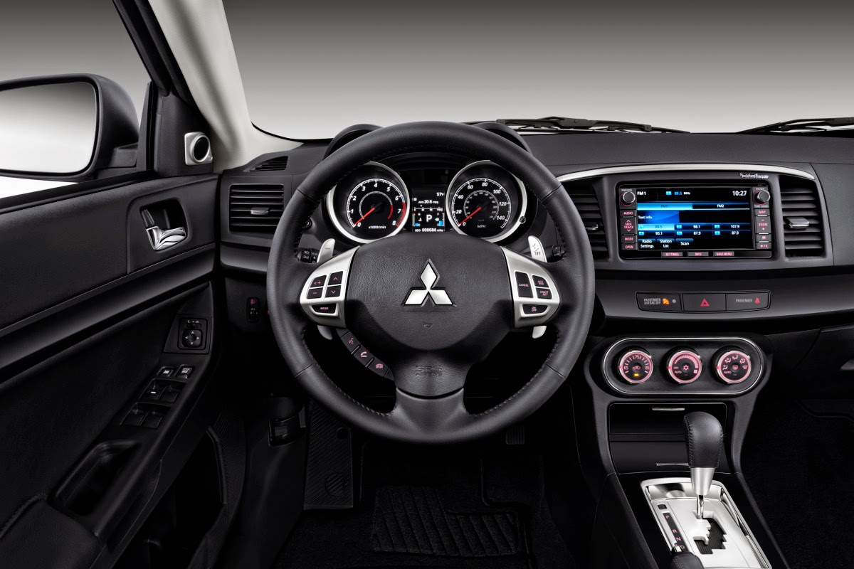 Mitsubishi Lancer GT interior