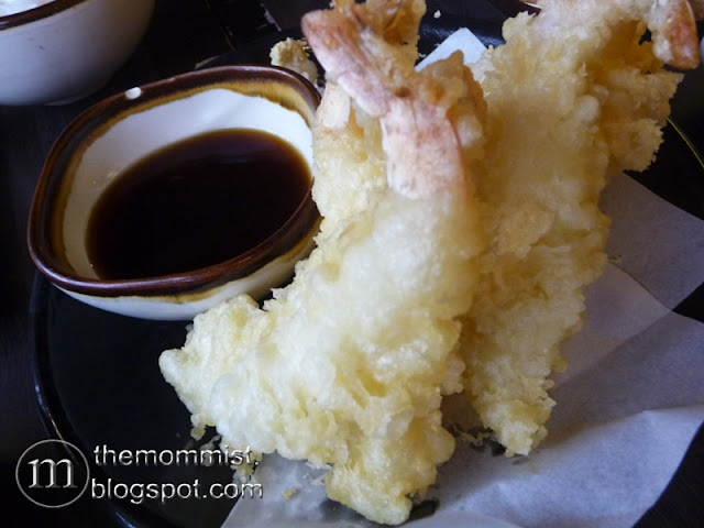 Nanbantei Ebi Tempura and Tentsuyu