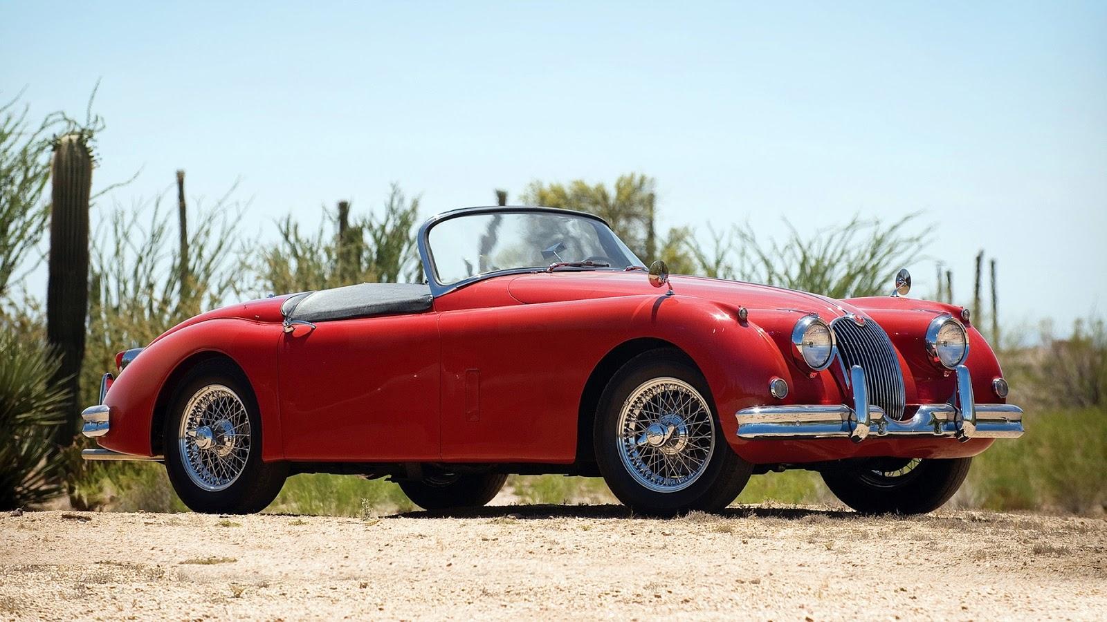 Red Classic Jaguar