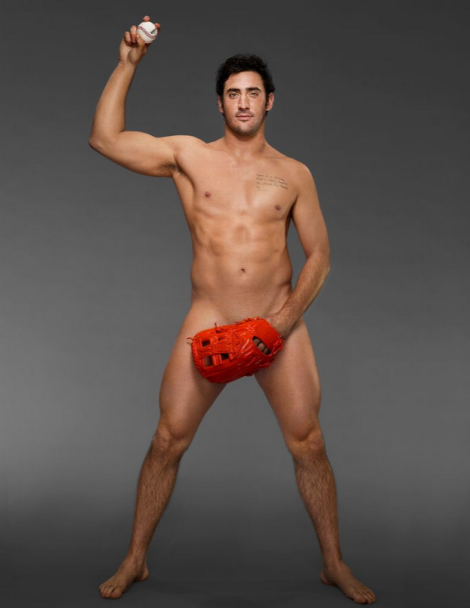 Matt Harvey in ESPN 2013 Body Issue