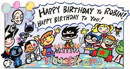[Cumpleaños] Feliz Cumpleaños Dick Grayson! TinyTitansRobinbirthday