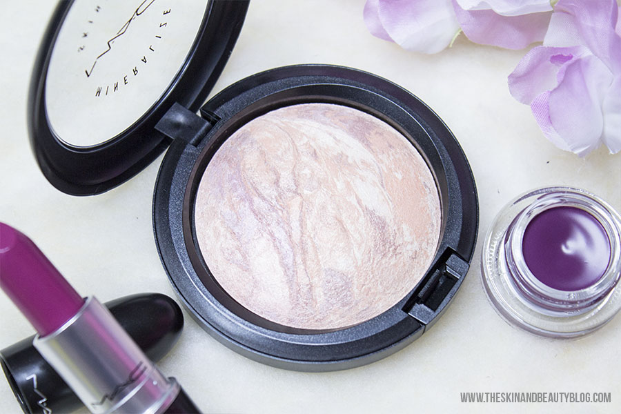 MAC Perfect Topping Mineralized Skinfinish Review Swatches
