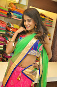 Anukruthi Glam pics in half saree-thumbnail-3