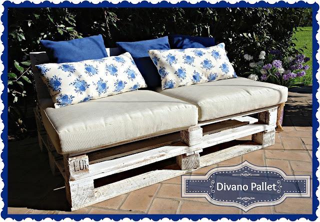 pensieri romantici : Pallet couch - Divano pallet