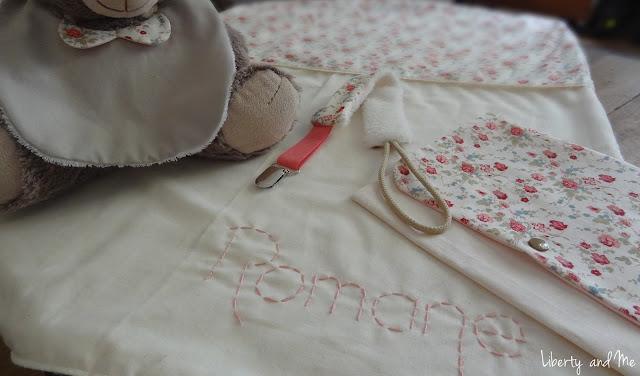 kit de naissance fait main personnalisé