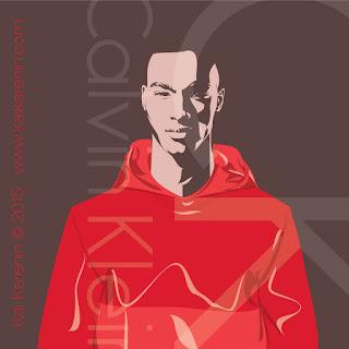 Corey Baptiste by Kai Karenin, vector illustration