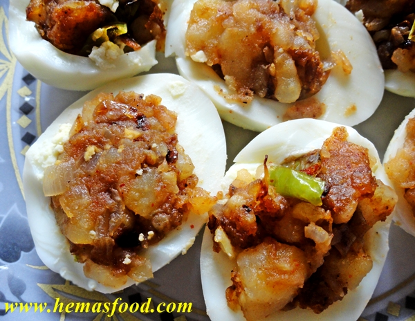 Indian food recipes hemas kitchen stuffed boiled egg salad forumfinder Images