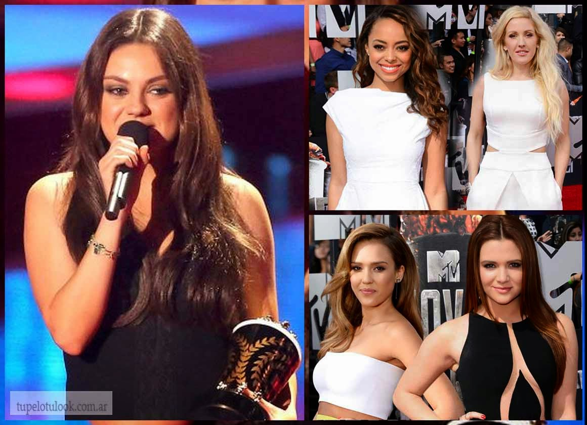 peinados 2014 MTV Movie Awards