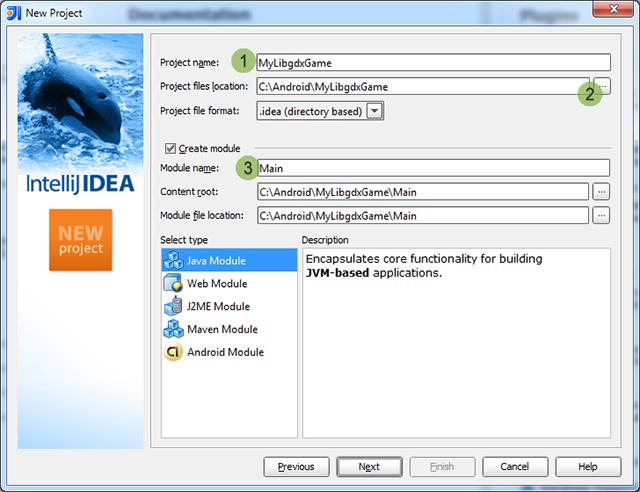libGDX: libGDX и IntelliJ IDEA