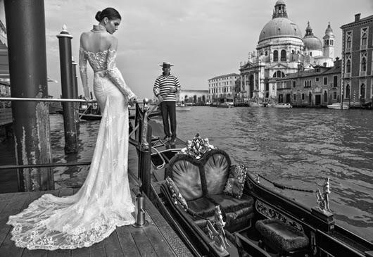 Inbal Dror Brautkleid: 2015 Venedig Kollektion