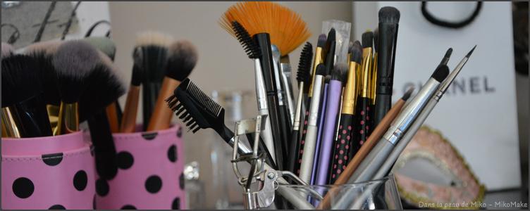 Le guide des pinceaux : à quoi sert ce pinceau, explication, utilisation maquillage