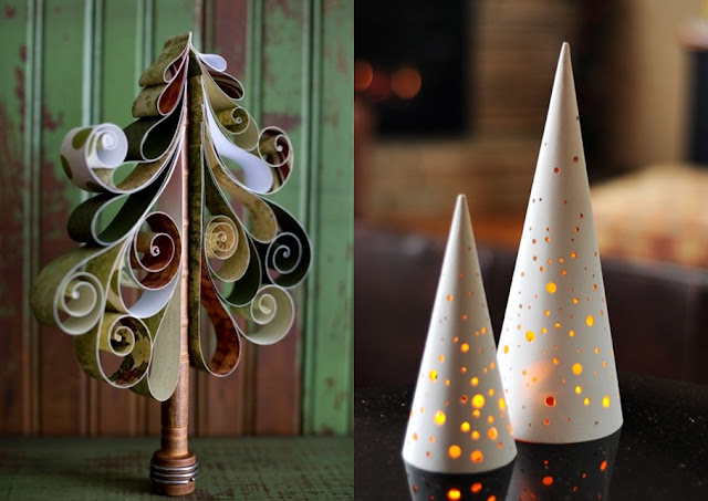 Pop culture and fashion magic original christmas trees ideas for Original christmas decorating ideas