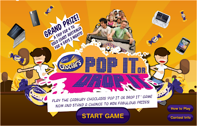 Cadbury Choclairs 'Pop It or Drop It' Contest