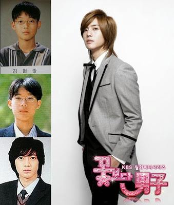 Korean Drama Actors Graduation Picture