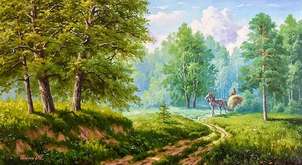 Paisaje natural oleo pintura paisaje natural paisaje pintado oleo gallery