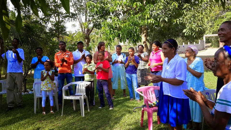 christmas party for micro finance project members of banco esperanza - Christmas In Dominican Republic