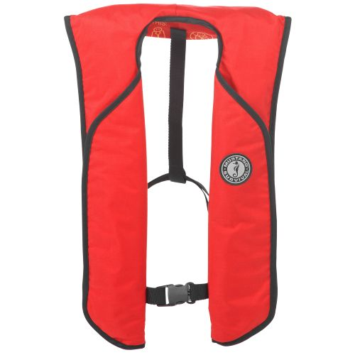 Inflatable life vest bass pro shops for Bass fishing life jacket