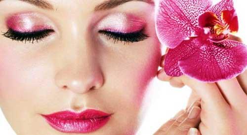 maquillaje de ojos con sombra en crema