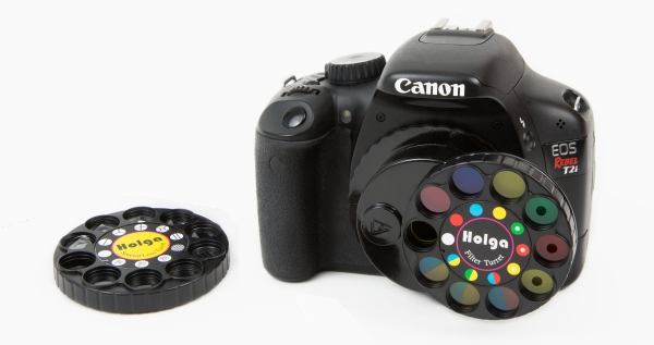 A Wheel of Filters for your DSLR
