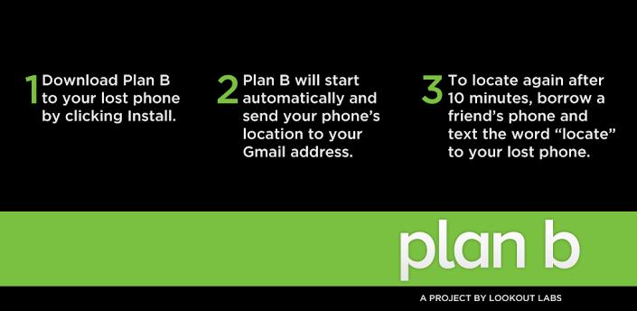 Plan B App