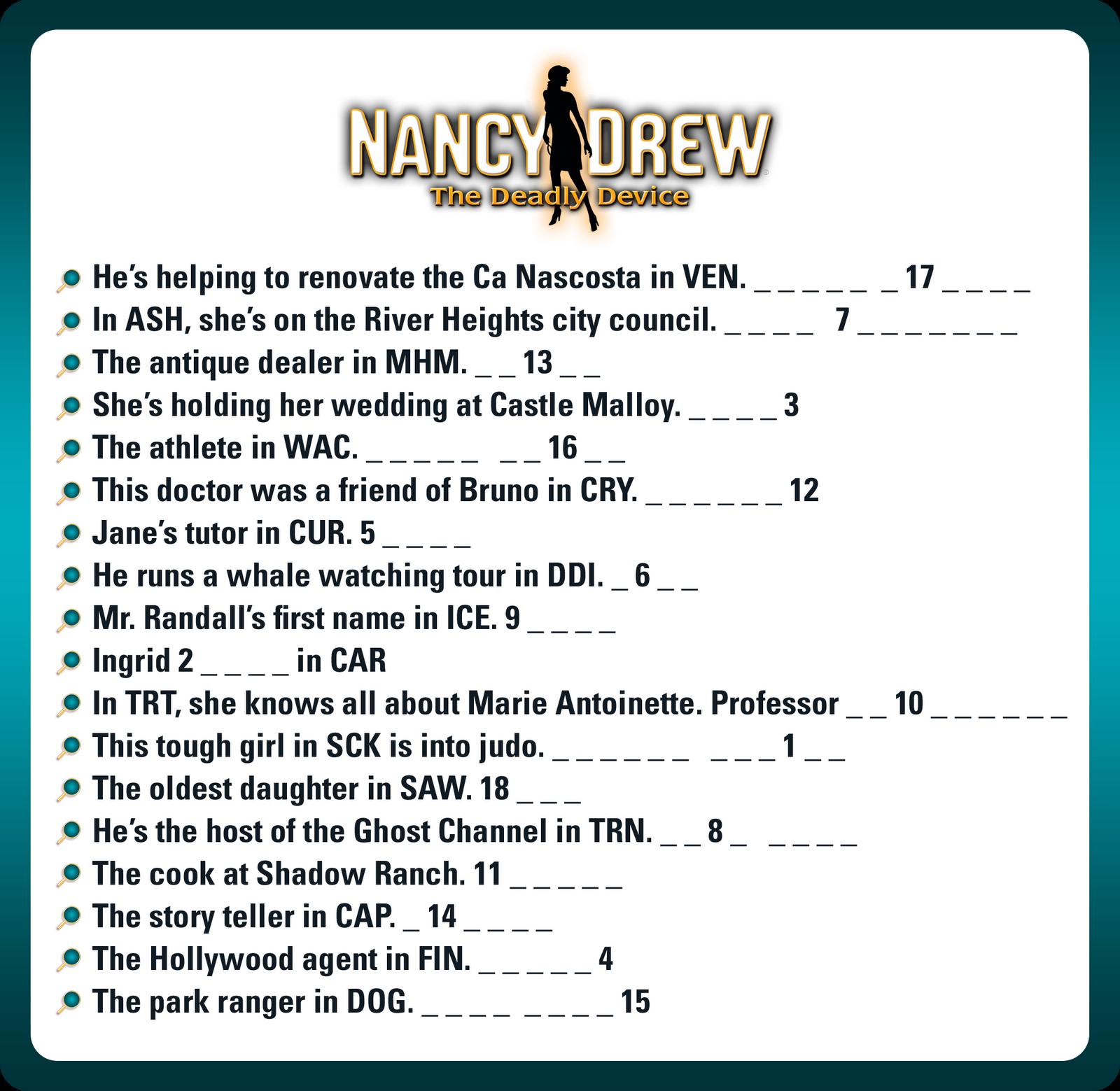 Nancy Drew: Alibi In Ashes - PC/Mac