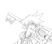 #12 Sora Coloring Page