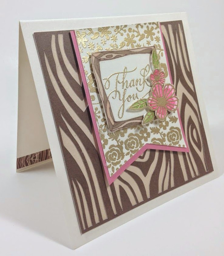 Cricut Artbooking Woodlands Thank you sideview