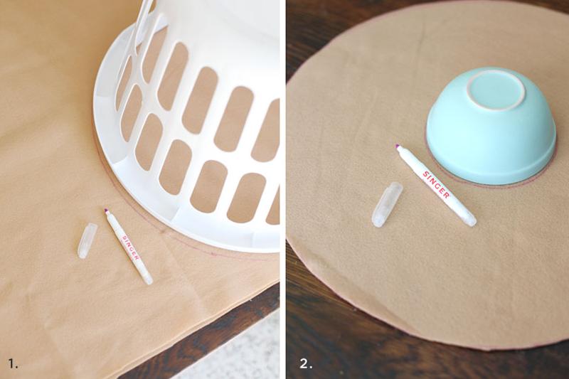 Cómo hacer una almohada infantil en forma de dona ~ Solountip.com