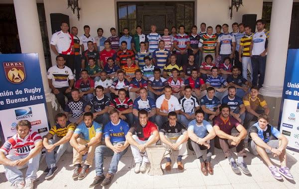 Foto Oficial del Lanzamiento URBA Temporada 2014