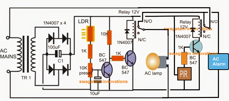 What is a suitable voltage to use with ldr and why?