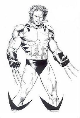 Wolverine Para Colorear Y Pintar 4 Dibujo
