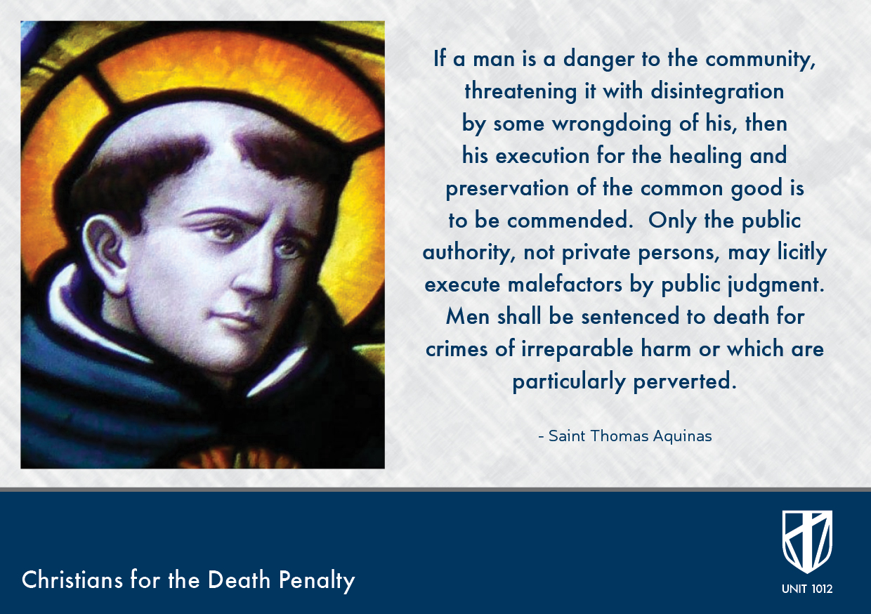 Death Penalty Quotes | Unit 1012 The Victims Families For The Death Penalty Saint