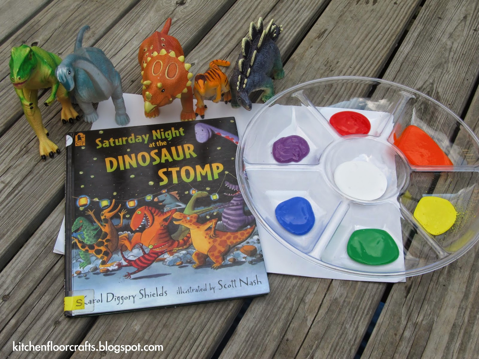 Quick Pick U0026 Project Of The Week: Dinosaur Stomp Painting