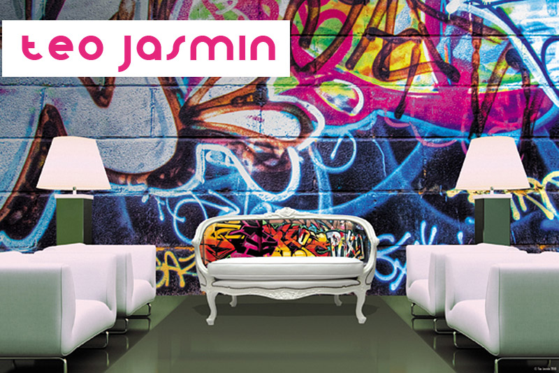 teo jasmin digitally printed furniture. Black Bedroom Furniture Sets. Home Design Ideas