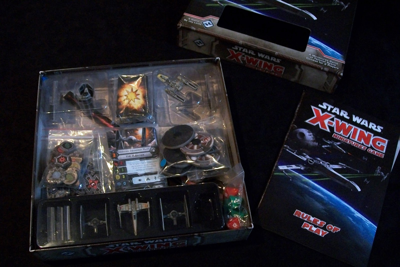 Star Wars X-Wing Miniatures Game ReviewX Wing Game