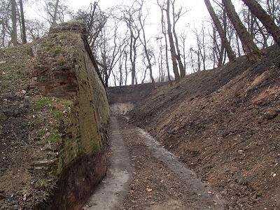 Twierdza Kraków, fort Borek, fort dwuwałowy